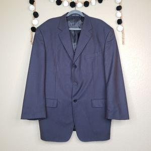 Giorgio Armani Wool Suit Jacket Blazer Size 58